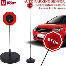 Adjustable LED Stop Sensor Stand Auto Parking Detector for Garage Port Red