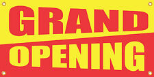 Grand Opening 2'x4' Vinyl Retail Banner Sign
