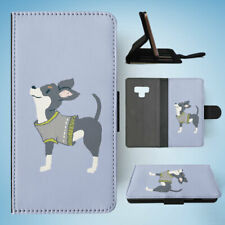 SAMSUNG GALAXY NOTE 9 FLIP CASE WALLET COVER|CHIHUAHUA DOG 2