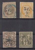 Bi6087/ FRENCH REUNION – Y&T # 5 / 6 – 10 – 16B USED – CV 325 $
