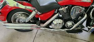Vance & Hines Big Shots Staggered Exhaust System VTX1800 R S T N  Pipes Mufflers