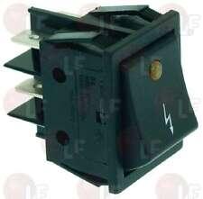 Quick Mill Black Bipolar Switch 16A 120V- 250V