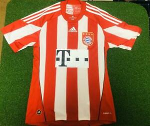 2010-2011 Bayern München Munich Player Techfit Jersey Shirt Trikot Home Adidas M