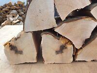 Large BBQ smoker wood chunks 8 kg kiln dried Alder