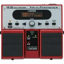 BOSS VE-20 VOCAL PERFORMER VOICE EFFECTS PROCESSOR NEW