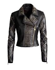 Versace H&M Leather Jacket BNWT