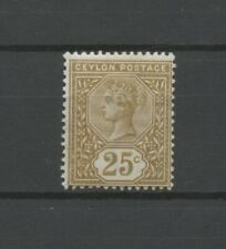 No: 78798 - CEYLON - AN OLD 25 C STAMP - MINT LIGHT HINGED!!