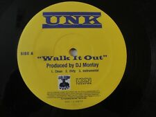 "UNK WALK IT OUT/ BACK IT UP 12"" VINYL SINGLE 2006 KOCH RECORDS ALBUM"