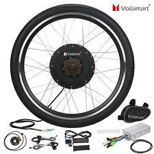 "26"" 1000W Electric Bike Rear Wheel Bicycle Conversion Kit Hub Motor Cycling 48V"