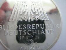 1971-D KM 129 Germany Albrecht Duerer 5 mark PROOF
