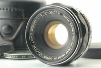 [Exc+5 in case] Canon 35mm f2 Black Leica Screw Mount L39 LTM MF Lens From JAPAN