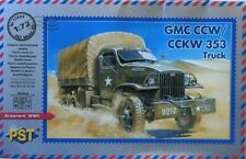GMC CCW/CCKW-353 GENERAL SERVICE TRUCK(FRENCH, SOVIET & US ARMMY) #44 1/72 PST