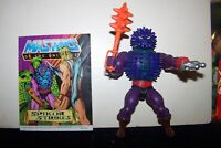 Spikor Vintage MOTU  He-Man Masters of the Universe Complete w/Comic Book