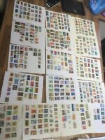 AUSTRALIA Stamps 16 leaves #v lot 1
