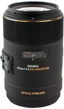 Macro/Close Up DSLR Camera Lenses 105mm Focal