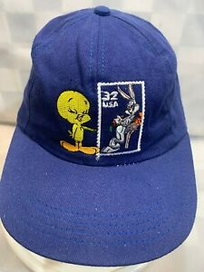 Looney Tunes STAMP Collection Tweety Bugs Bunny Snapback Youth Cap Hat