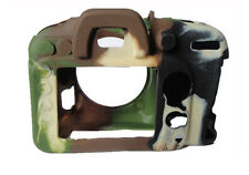Soft Silicone Armor Skin Case Camera Cover Camouflage for Nikon D7000 D7200 DSLR