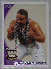 Junkyard Dog WWE 2010 Topps Card #90 Wrestlemania Classic Legend Superstar JYD