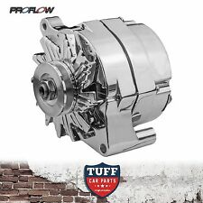 Ford Falcon XA XB XC 6 Cyl 250 Proflow Chrome Alternator 100 AMP External Reg