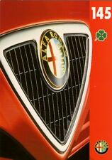 Alfa Romeo 145 Cloverleaf 2.0 TS 1995-97 UK Market Foldout Sales Brochure