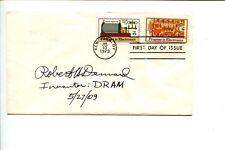 Robert H. Dennard Dram Inventor Signed Autograph Fdc