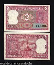 INDIA 2 RUPEES P67B 1969 GANDHI *BUNDLE* COMMEMORATIVE CURRENCY MONEY 100 PCS