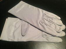 New - Baume & Mercier - Gloves Gloves - Grey Grey - 100% Genuine - New