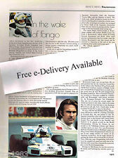 vtg CARLOS REUTEMANN F1 Formula One f-1 Grand Prix History Article/Picture/Photo