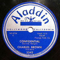 CHARLES BROWN-Confidential-BLUES 78-ALADDIN #3342