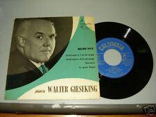 """Disco 45 giri -  Pianista WALTER GIESEKING """" Debussy """""""