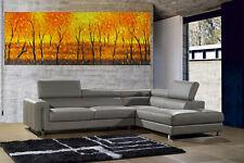 "bush scrub fire dream oil painting  71"" orginal landscape  COA by jane Aussie"