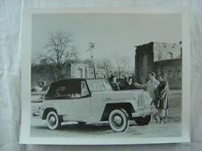 Vintage Photo 1948 Willys Jeep Jeepster Convertible 786051