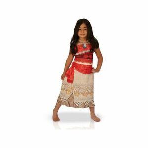 Déguisement classique robe VAIANA™ fille 3 à 8 ans DISNEY Officiel Rubie's
