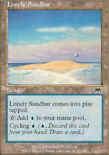 Italian Lonely Sandbar - Foil ~ Moderately Played Onslaught Foreign UltimateMTG