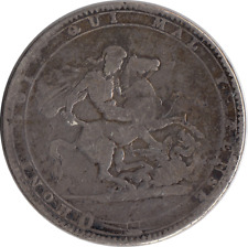 More details for 1819 george iii silver crown coin cased auction
