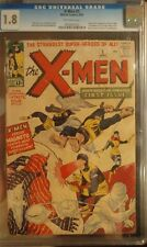 X-Men #1 CGC 1.8 OW *1st Angel/Beast/Cyclops/Marvel Girl/Magneto* NEEDS A PRESS!