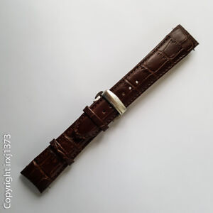New leather strap Watchband for Tissot T035617A and T035439A 23mm brown