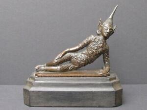 Antique Figure Rattanakosin Bronze, Thailand