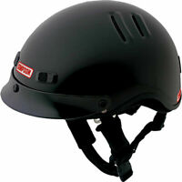 Simpson OTW Shorty Motorcycle Helmet Shorty Open Face DOT - Black - Size: XL