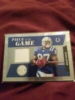 2011 Totally Certified Football Reggie Wayne Game Used Patch 009/177 Colts NICE!