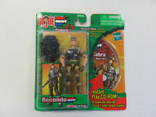 GI Joe vs. Cobra - RECONDO Figure & Mission Disc CD-ROM - NEW! Hasbro 2003