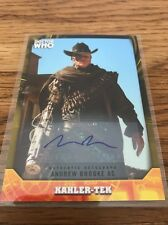 Topps Dr Who Signature Series Andrew Brooke 20/25 As Kahler-Tek Autograph Card