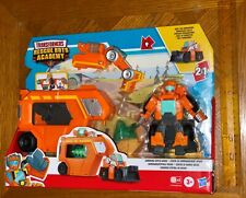Transformers Rescue Bots Academy Command Center WEDGE 5 Inch Figure Playset