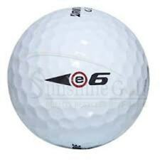 24 NEAR MINT Bridgestone e6 AAAA Used Golf Balls