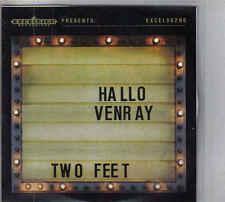 Hallo Venray-Two Feet Promo cd single