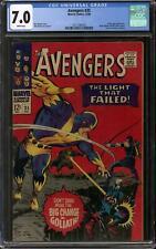 Avengers #35 CGC 7.0 (W)