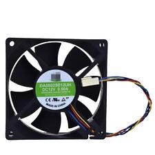 Cooling fan DA08025B12UH for YM DC12V 0.50A 80*80*25MM 4pin Double Ball Bearing