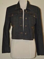 Veste en jean noir MARITHE & FRANCOIS GIRBAUD T 40