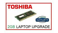 2GB Memoria Ram Upgrade Per Toshiba Satellite C850 (tutti i modelli) Laptop