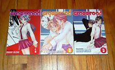 New CROSSROAD Manga BOOKS 1 2 and 3 SHIOKO MIZUKI English Language